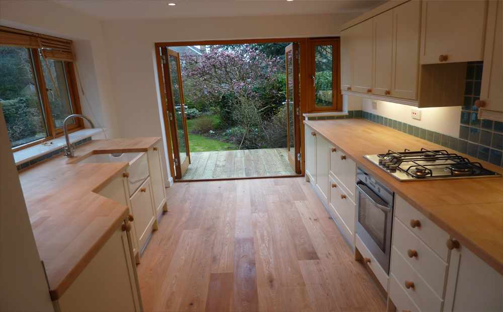Converting Garage Into Kitchen builders edinburgh for extensions edinburgh builders
